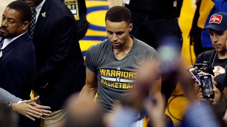 Kontuzja Curry'ego! Zagra jeszcze w play-offach?
