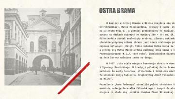 04-08-2017 21:31 Ostra Brama motywem na polskim paszporcie - stanowczy sprzeciw Litwy
