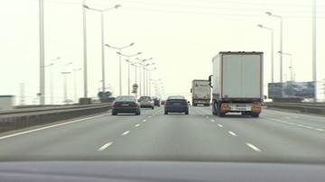 10-07-2017 13:00 Wypadek na autostradzie A2. Utrudnienia w ruchu w stronę Warszawy