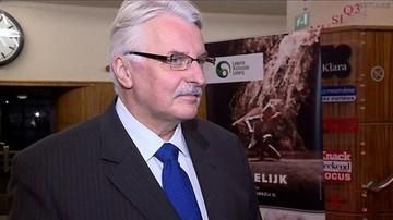 """""""Bzdury"""". Waszczykowski o niemieckich spekulacjach na temat przeniesienia szczytu NATO"""