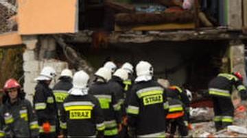 Silny wybuch gazu w Olszance. Dwie osoby ranne