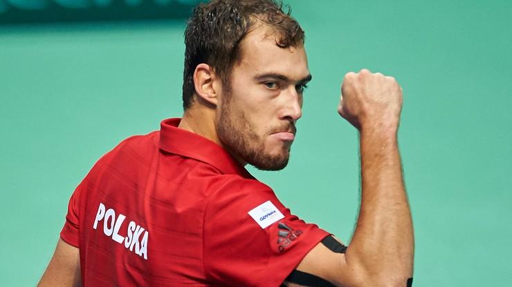 Awans Janowicza do półfinału challengera ATP w Orleans