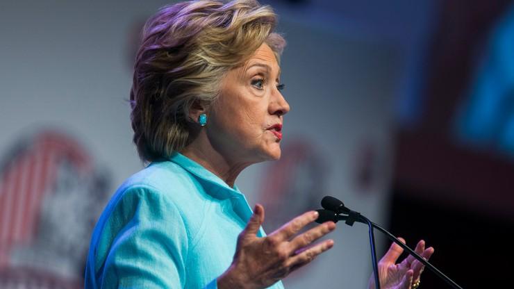 Clinton obiecuje zmniejszyć nierówności dochodów