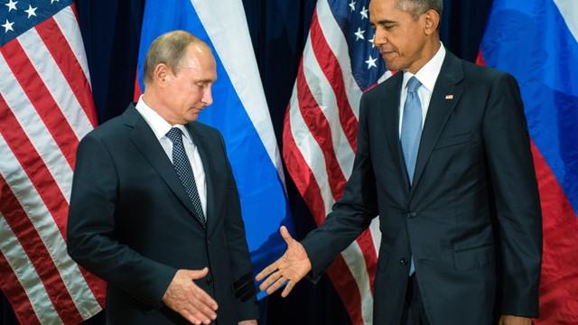 Długa rozmowa Obamy z Putinem o Syrii