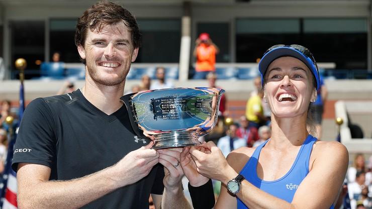 US Open: Zwycięstwo Hingis i Murraya w grze mieszanej