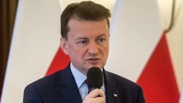 Błaszczak: nie chcemy przenosić do Polski kryzysu, z jakim boryka się zachód Europy