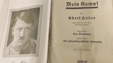 """27-05-2016 16:17 Niemcy: skrajnie prawicowe wydawnictwo chce wydać """"Mein Kampf"""" Hitlera"""