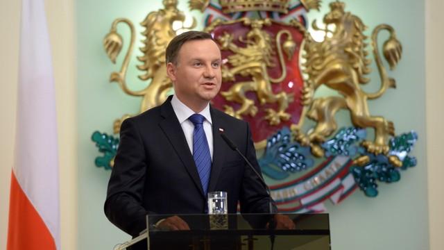 Prezydent Duda: Rozmawiając z Rosją, NATO powinno pokazywać charakter