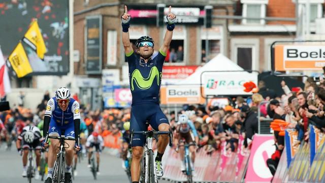 Liege-Bastogne-Liege - trzecie miejsce Kwiatkowskiego, zwycięstwo Valverde