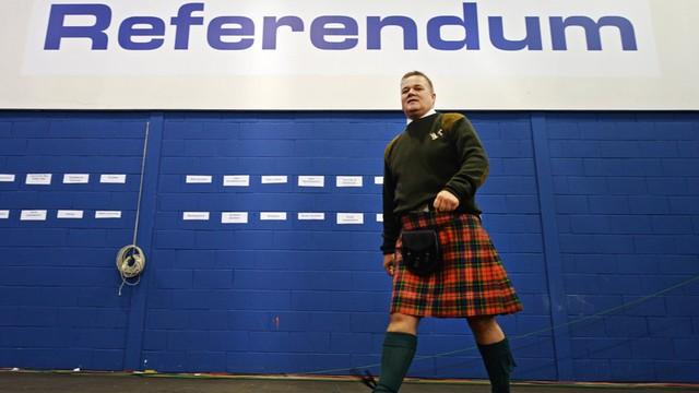 Szkocja nie zgadza się na Brexit. Parlament poparł wniosek o referendum ws. niepodległości