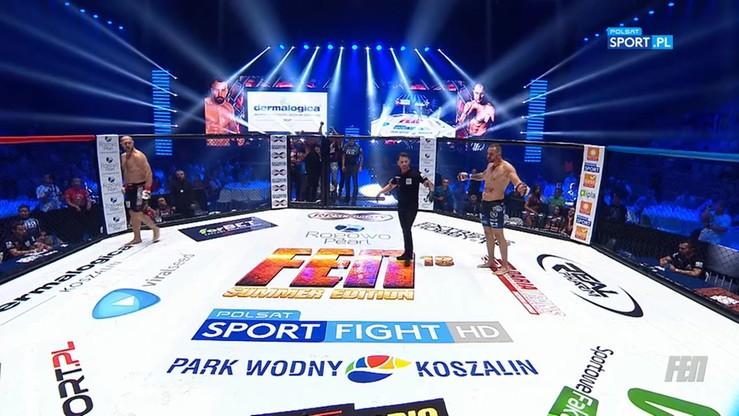 2017-08-12 Marcin Sianos - Mateusz Łazowski. Skrót walki