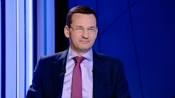 Morawiecki: podniesiemy kwotę wolną od podatku dla najuboższych