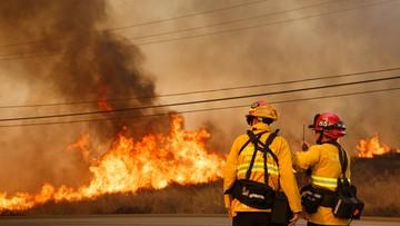 Pożary w północnej Kalifornii. Dziesięciu zabitych, tysiące ewakuowanych