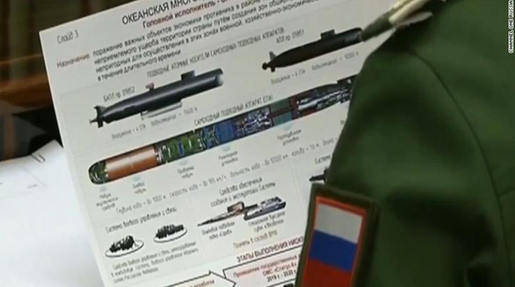 Rosyjskie telewizje pokazały tajne dokumenty wojskowe