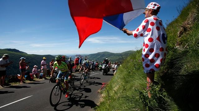 Tour de France - Majka trzeci na etapie, zmiana lidera