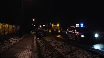 01-12-2017 20:29 Radny PiS z Puław wracał z kolacji. Miał 1,6 promila i wylądował w rowie