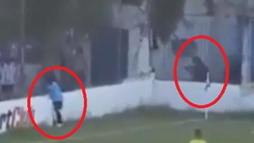 2016-12-09 Piłkarz postrzelony na boisku! Policjant celował w kiboli (WIDEO)