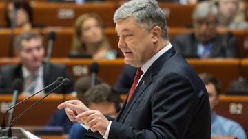 """17-10-2017 11:05 Poroszenko wniósł projekt ustawy o zniesieniu immunitetu posłów. """"Nie byłby sobą, gdyby nie podłożył nam świni"""""""