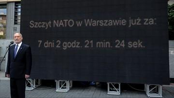 """01-07-2016 11:23 Szef MON: szczyt NATO ustabilizuje sytuację na wschodzie i południu. W Warszawie """"przełomowa decyzja"""""""