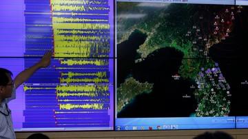 09-09-2016 08:18 Korea Północna przeprowadziła piątą próbę jądrową