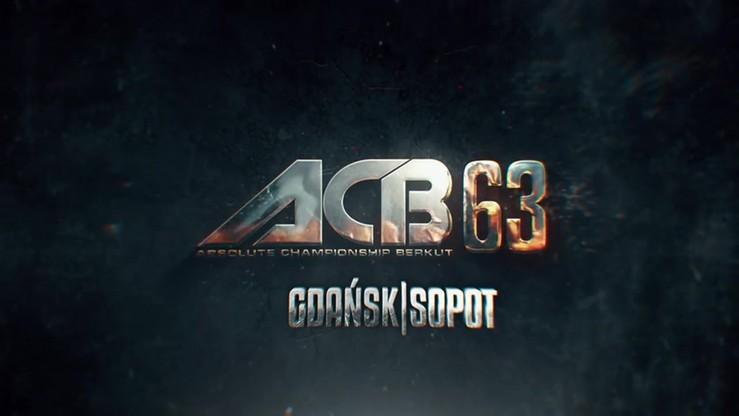 ACB 63: Oficjalny zwiastun