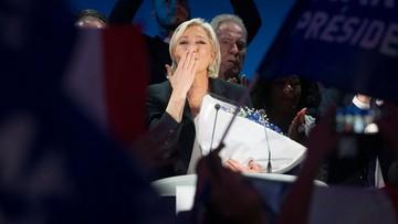 """23-04-2017 21:34 Le Pen proponuje Francję z granicami, które """"ochronią"""" obywateli. """"Jestem prawdziwą kandydatką ludu francuskiego"""""""