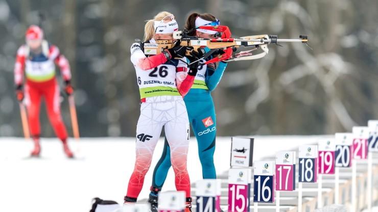 ME w biathlonie: Sztafety mieszane w Polsacie Sport