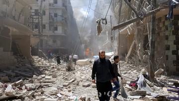 29-10-2016 20:08 Syryjska armia podjęła próbę odbicia utraconych pozycji w Aleppo