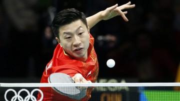2017-10-12 PŚ w tenisie stołowym: Zhu Yuling i Ma Long rozstawieni z jedynką