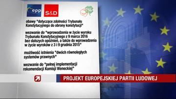 """12-04-2016 16:15 PE ma przyjąć rezolucję o Polsce. """"To wyraz troski"""""""