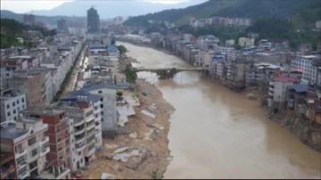 Chiny: dziewięć osób zginęło po przejściu tajfunu