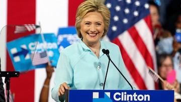 27-07-2016 05:40 Clinton oficjalnie kandydatką Demokratów na prezydenta. Demonstracja zwolenników Sandersa