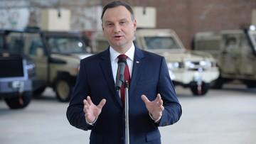 """11-11-2016 10:46 """"Chciałbym, aby relacje Polski z USA były jak najlepsze"""" Prezydent Duda o wyborze Trumpa"""