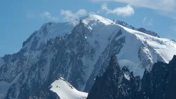 Troje alpinistów zginęło w masywie Mont Blanc. Wśród nich Polka