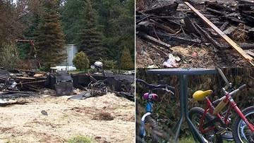 Pożar domku letniskowego na Mazowszu. Nie żyje dwoje dzieci i ich babcia