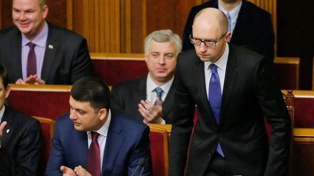 Ukraina: Jaceniuk radzi Rosji: zażądajcie zwrotu kredytu od Janukowycza