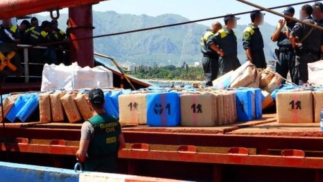 Hiszpania: konfiskata blisko 20 ton haszyszu na panamskim statku