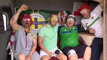 2016-06-09 Staszewski: Kibice Irlandii Północnej patrzą przez zielono-białe okulary