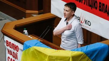31-05-2016 11:00 Sawczenko: nie pozwolę zapomnieć o tych, którzy giną za Ukrainę