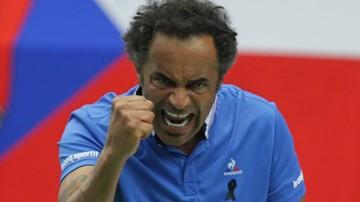 2016-12-07 Yannick Noah kapitanem ekipy francuskich tenisistek
