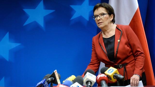 Kopacz: rząd podejmie decyzję o udziale w pomocy finansowej dla uchodźców
