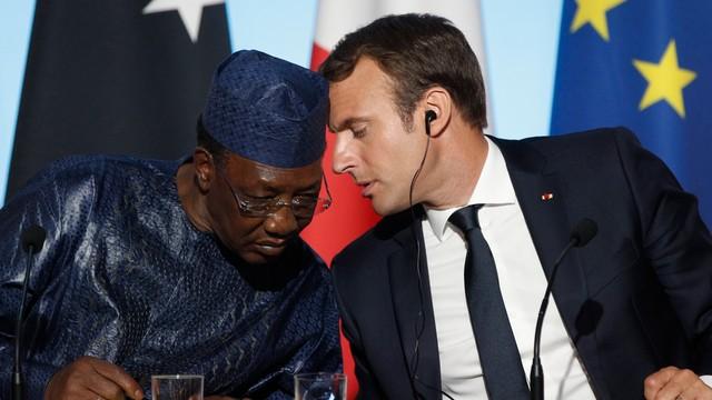 Macron proponuje rozpoczynanie procedury azylowej już w Afryce