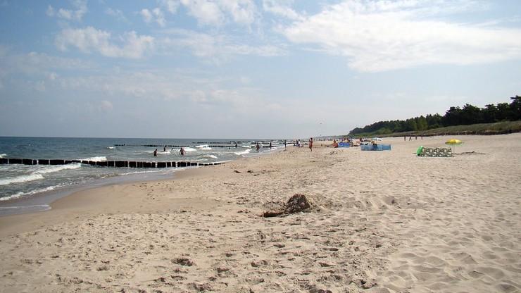 Mężczyzna utonął w Bałtyku. Poszedł się kąpać z dzieckiem