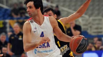 2016-11-03 Euroliga: Olympiacos Pireus - CSKA Moskwa. Transmisja w Polsacie Sport Extra