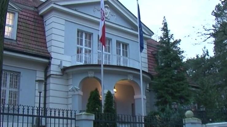 Chcieli podpalić ambasadę RP w Berlinie? Niemcy badają ewentualny polityczny motyw zdarzenia