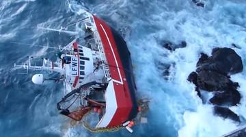 08-01-2016 14:30 Trudna akcja ratownicza u wybrzeży Norwegii