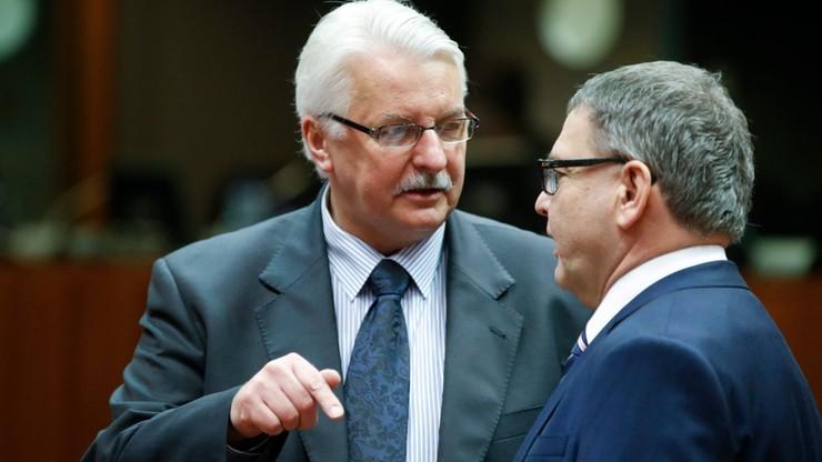Waszczykowski: cieszymy się, że w UE przeżyli refleksję