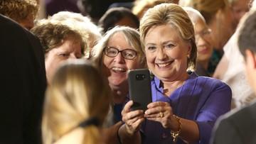 Topnieje przewaga Clinton nad Trumpem