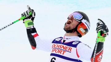 2017-02-17 Alpejskie MŚ: Hirscher wygrał slalom gigant po raz pierwszy w karierze