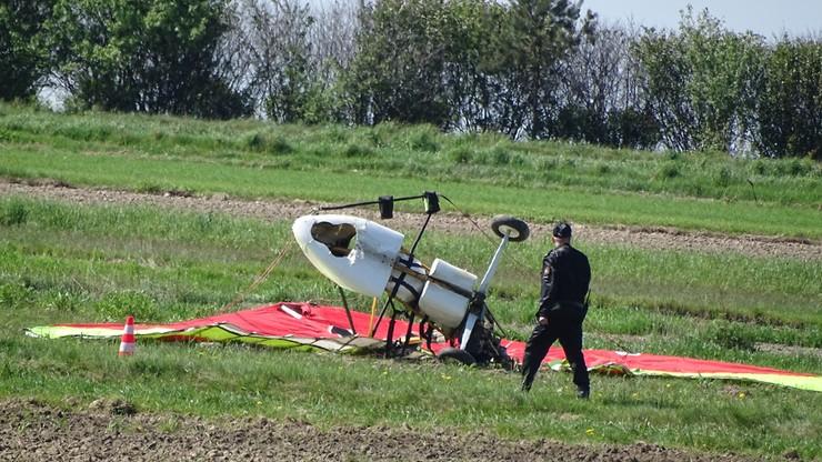 2017-05-17 Wypadek motolotni niedaleko Janowa Lubelskiego. Pilot nie żyje